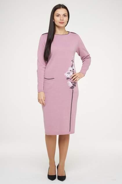 Платье женское VAY 182-2368 фиолетовое 50 RU