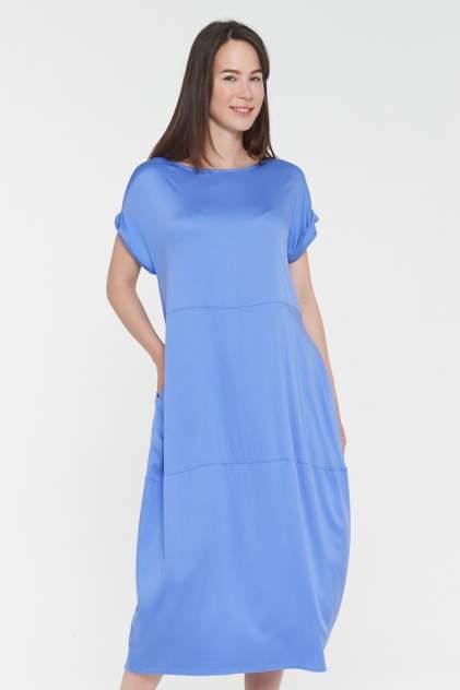 Платье женское VAY 191-3511 голубое 46 RU