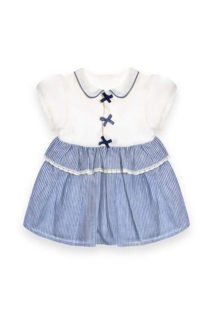 Платье RBC МЛ465336 голубое, размер 68