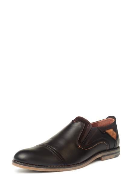 Туфли мужские Alessio Nesca 03407230, коричневый