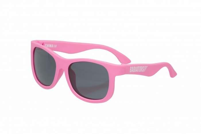 Детские солнцезащитные очки Babiators Original Navigator Розовые помыслы Think Pink! 0-2