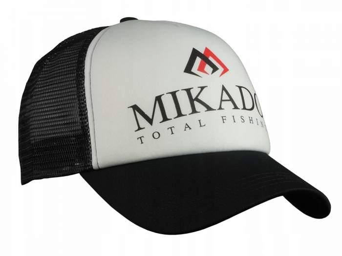 Бейсболка Mikado UM-UB020, черная, One Size