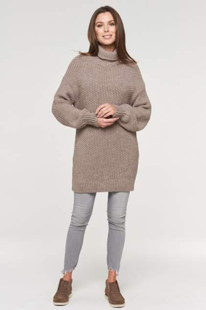 Свитер женский VAY 192-4012 коричневый 48 RU