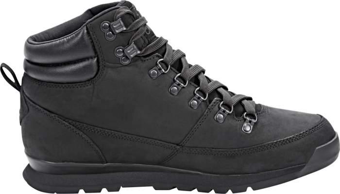 Ботинки The North Face Back-To-Berkeley Redux Leather, tnf black/tnf black, 7 US