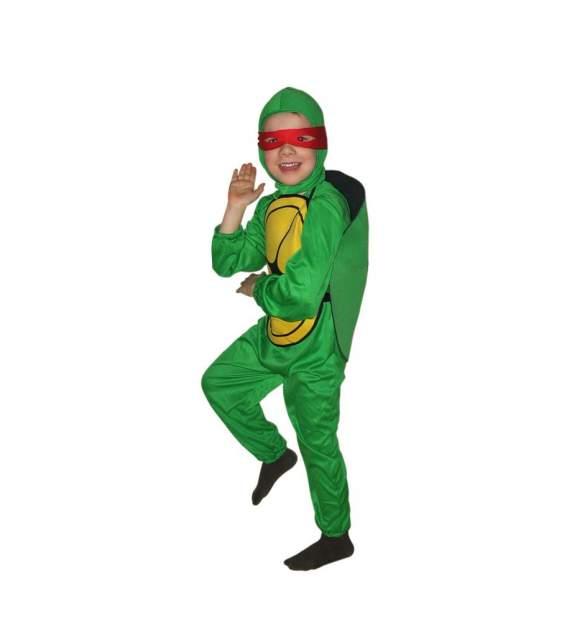 Карнавальный костюм Snowmen Черепашки-Ниндзя, цв. зеленый р.122