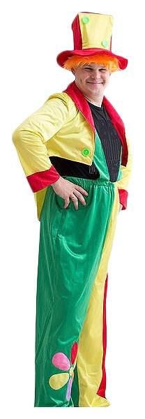 Карнавальный костюм Бока Клоун, цв. разноцветный р.176