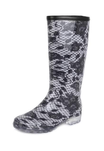 Резиновые сапоги женские T.Taccardi 02207050 черные/белые 36 RU