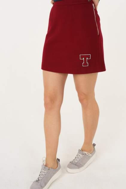 Юбка женская Tommy Hilfiger DW0DW05224 красная L