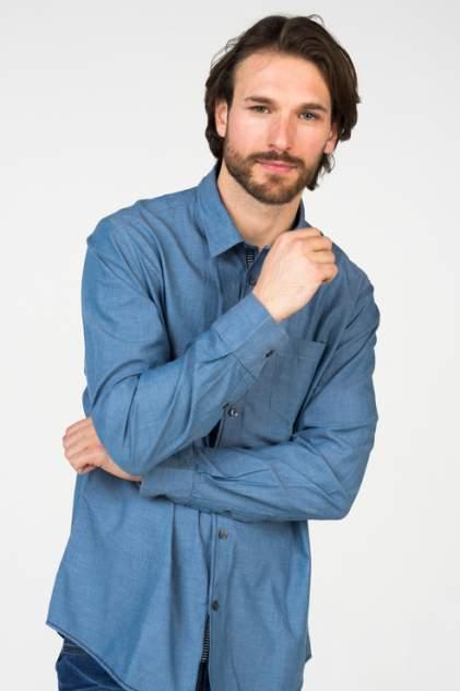 Рубашка мужская Broadway 20101460 голубая XL