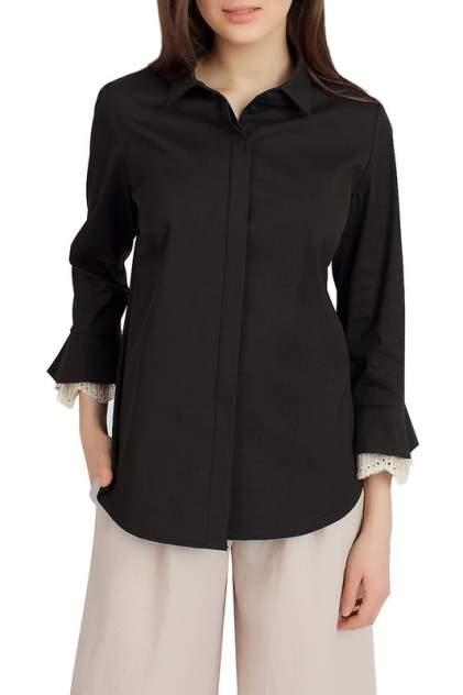 Блуза женская SERGINNETTI 4-1664-3712-4 черная 42 RU