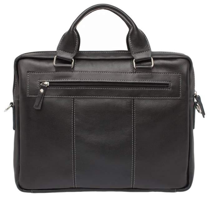 Портфель мужской кожаный Lakestone Holford черный