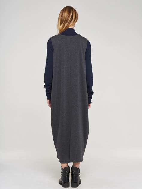 Платье женское VAY 192-3551 черное 58 RU