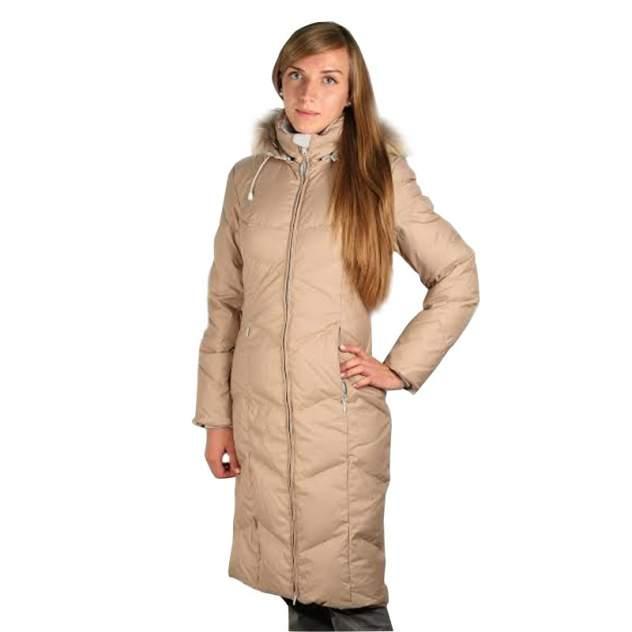 Пуховое пальто  ROUTE V3 4149B-9515-S БЕЖЕВЫЙ S