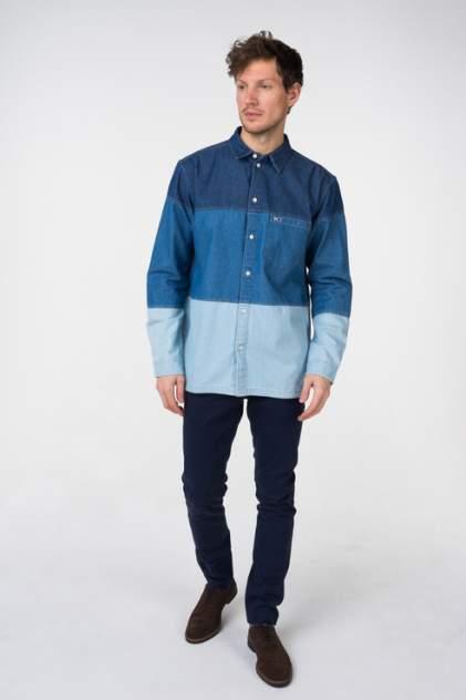 Рубашка мужская Tommy Hilfiger DM0DM05447 синяя L