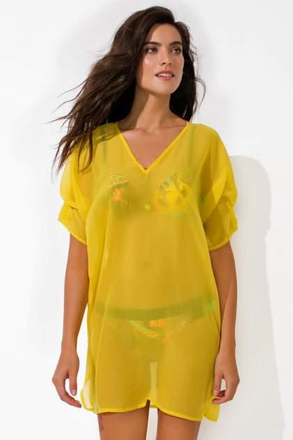 Пляжная туника женская Laete 60267-2 желтая L