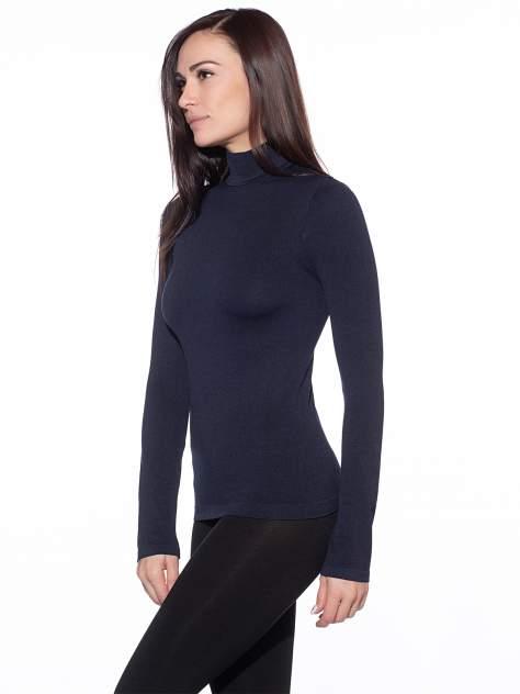 Водолазка женская Giulia синяя L/XL