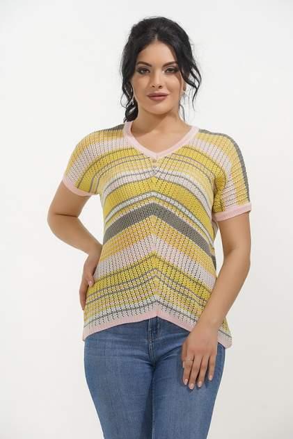Пуловер женский VAY 181-4448 желтый 52 RU