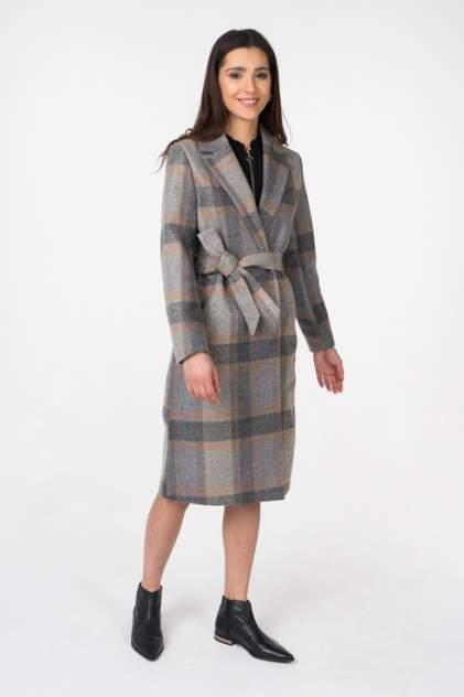 Пальто-халат женское ICHI 20106942 серое 34 EU