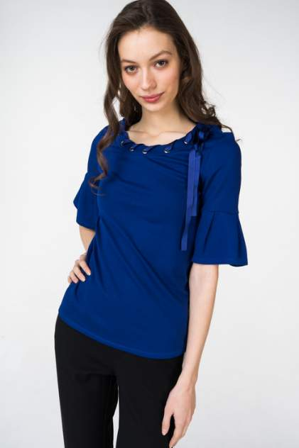 Блуза женская adL 11533232000 синяя 40 RU