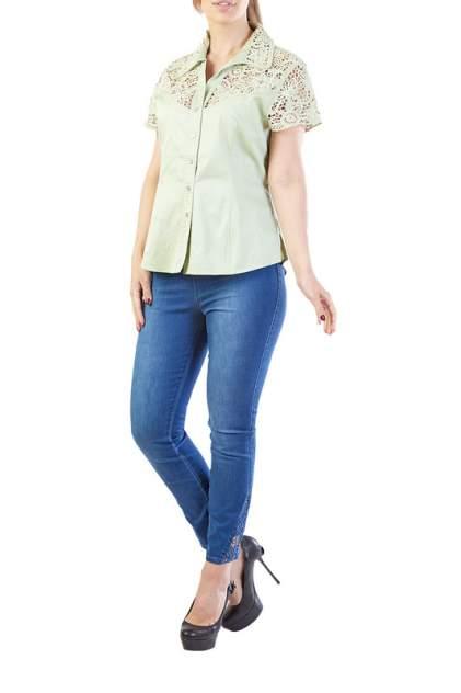 Блуза женская LAFEI-NIER G34626R-J зеленая 2XL
