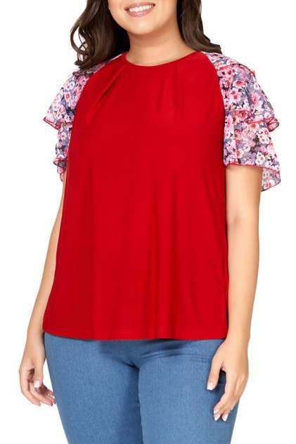 Блуза женская OLSI 1910036_2 красная 66 RU