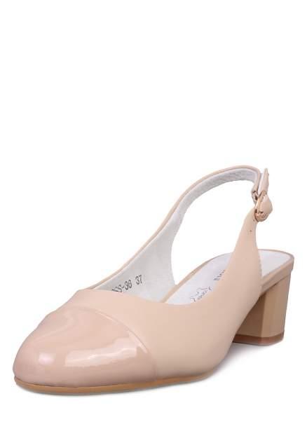 Туфли женские Alessio Nesca 710017760 бежевые 36 RU