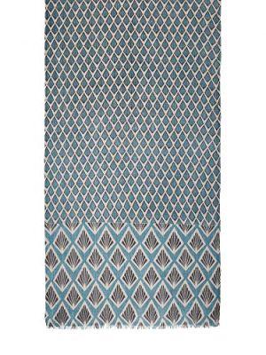 Палантин женский Eleganzza MN41-19408 синий