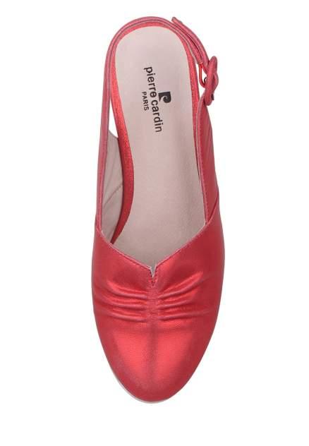 Туфли женские Pierre Cardin 710017675 красные 37 RU
