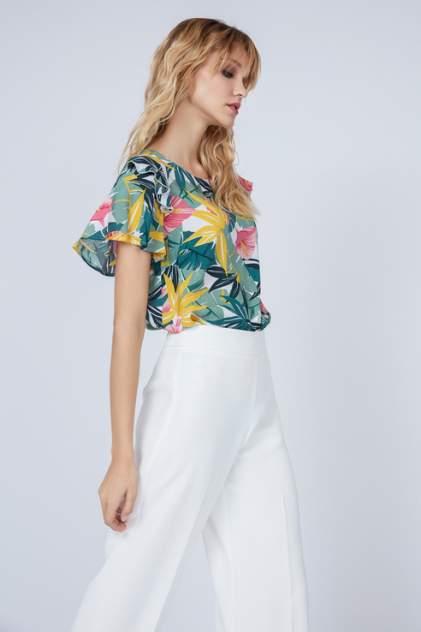 Блуза женская ZARINA 9225115315 зеленая 42 RU