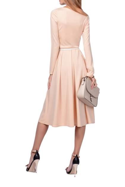 Платье женское FRANCESCA LUCINI F0732-9 бежевое 46 RU