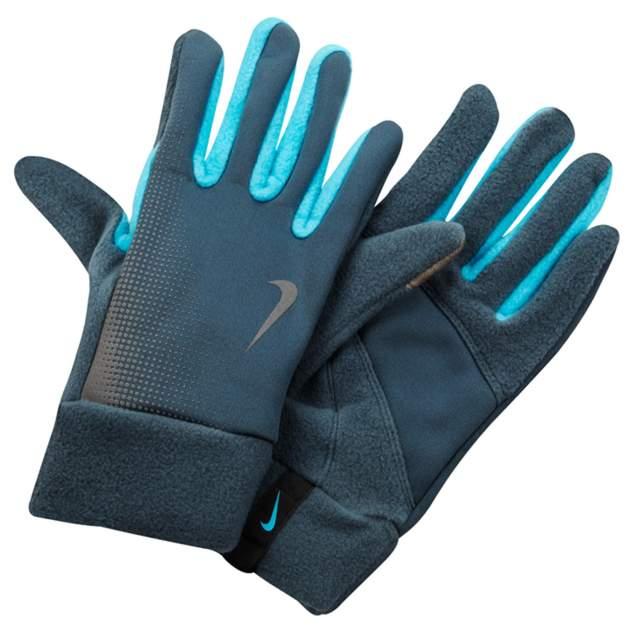 Женские перчатки Nike Nike Women's Tech Thermal Running Gloves, синий