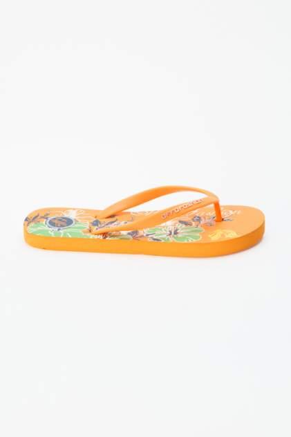Шлепанцы женские Effa 52325 оранжевые 36 RU