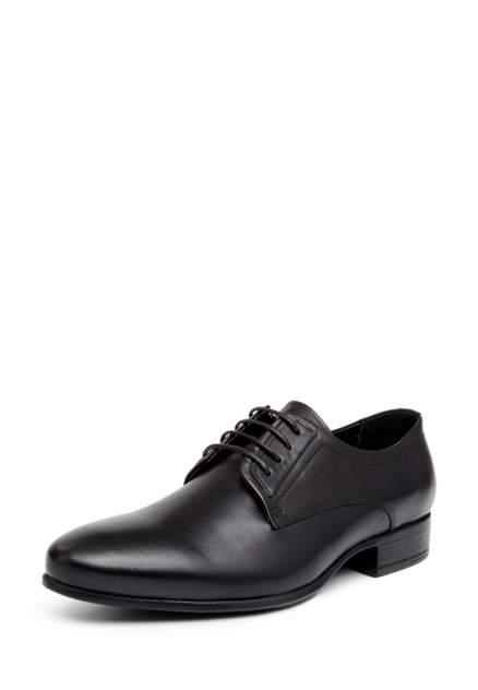 Туфли мужские Pierre Cardin 03406490 черные 42 RU