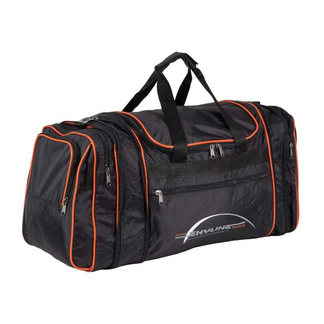 Дорожная сумка Polar 6073с черная 39/60 x 37 x 26