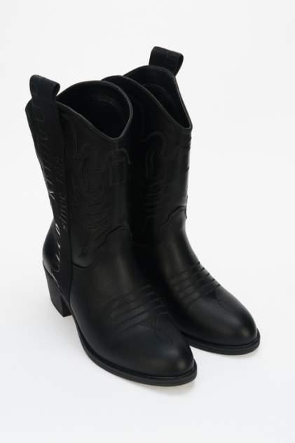 Полусапоги женские Keddo 898261/03 черные 36 RU