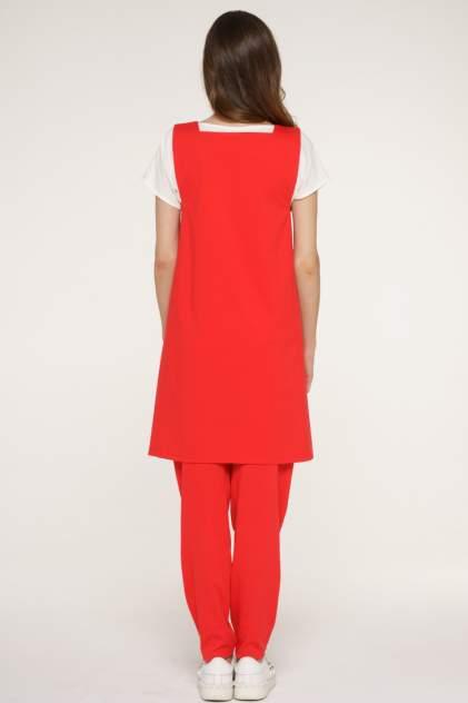 Платье женское VAY 192-3568 красное 46 RU