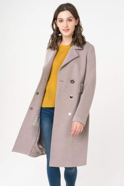 Пальто женское ElectraStyle 4-9009-128 бежевое 46 RU