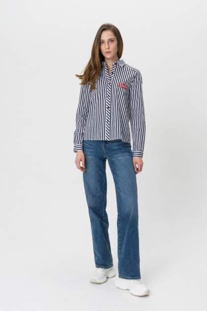 Рубашка женская Daphnea 30155 синяя M