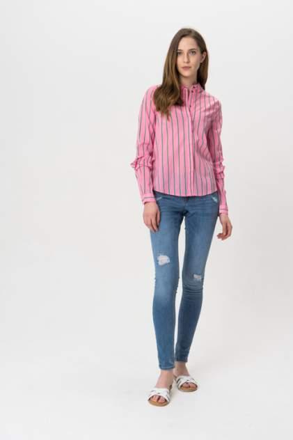 Рубашка женская Noisy may 27005577 розовая XS