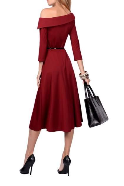 Платье женское FRANCESCA LUCINI F0724-2 красное 42 RU