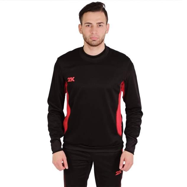 Толстовка 2K Vettore 111135, black/red, 3XL INT