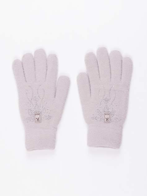 Женские перчатки DAIROS GD71700369/универсальные светло-серые