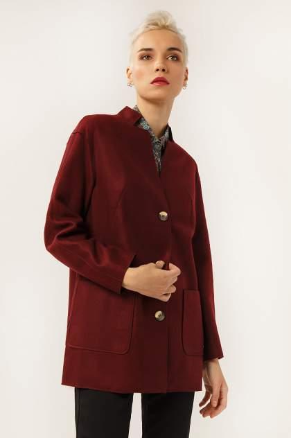 Женское пальто Finn Flare A19-12041, красный
