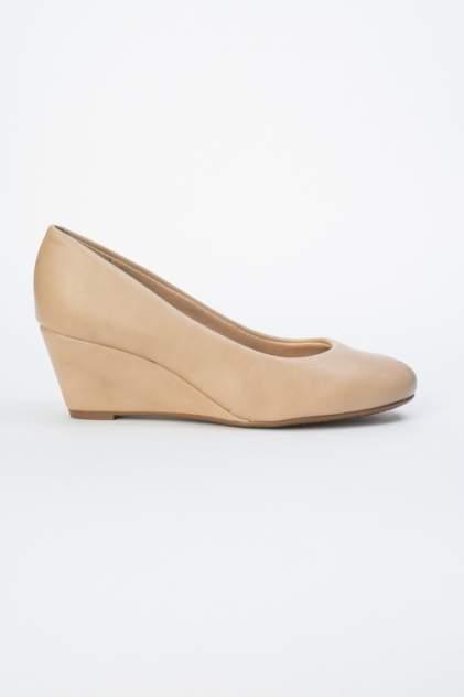 Туфли женские Beira Rio 646-01-BBR-03-PT бежевые 36 RU