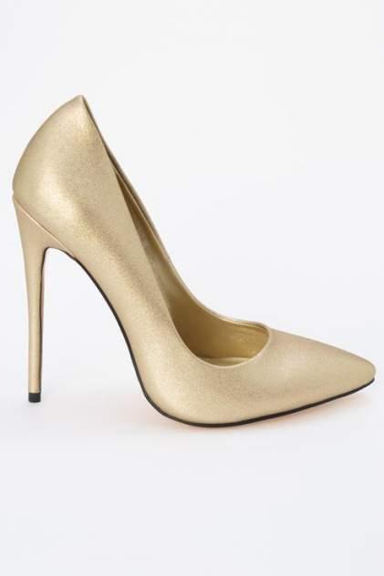 Туфли женские Ennergiia D507-B1663 золотистые 36 RU