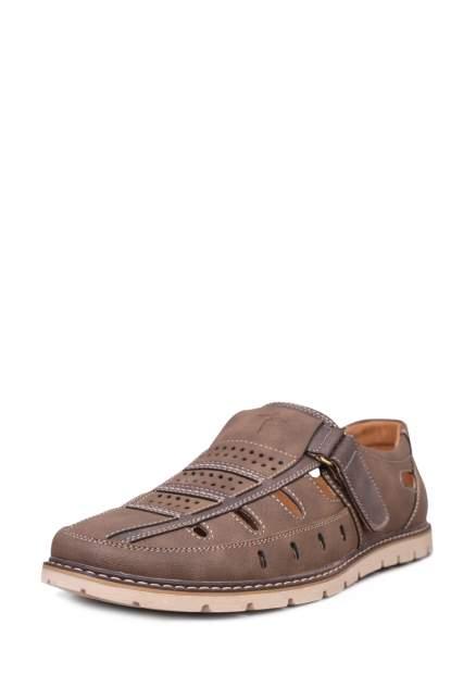Сандалии мужские T.Taccardi 02806350 коричневые 42 RU