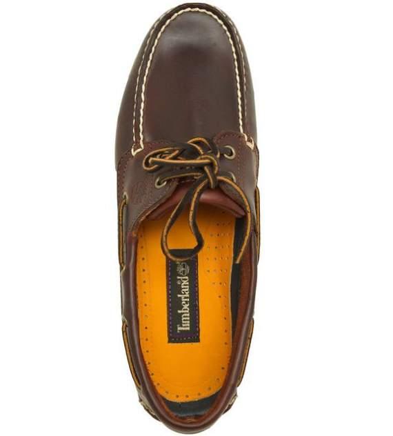 Топсайдеры мужские Timberland TBL25077W коричневые 7.5 US