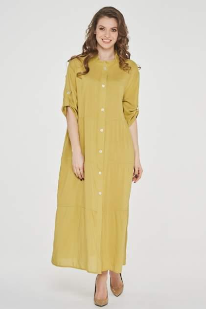 Платье женское VAY 191-3514 желтое 54 RU