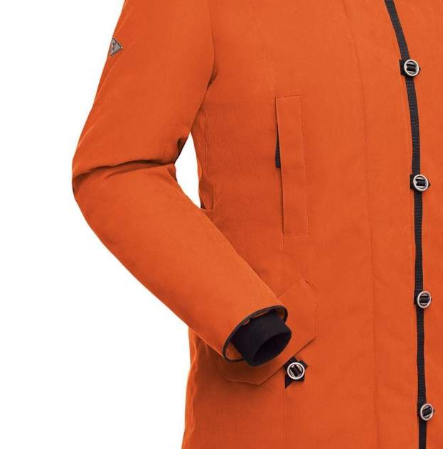 Пуховое пальто  HATANGA LADY 1464-9111-052 ОРАНЖЕВЫЙ 52