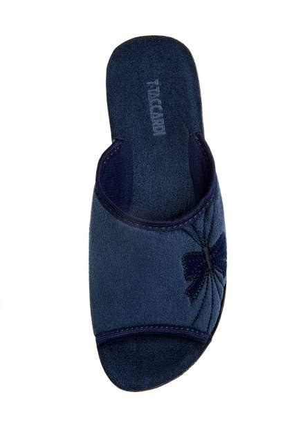Домашние тапочки женские T.Taccardi 01106330 синие 36 RU